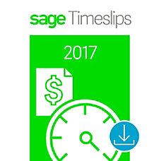 Sage Timeslips 2017 Time and Billing