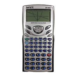 Teledex Datexx DS 883 Scientific Graphing