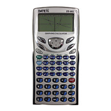 Teledex Datexx DS 883 Scientific Graphing