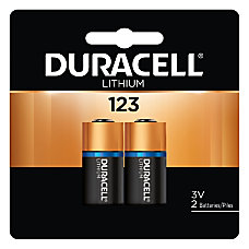 Duracell 3 Volt Photo Batteries Pack