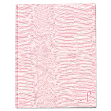 Rediform A10PNK2 Large Executive Ribbon Notebook