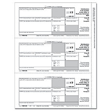 ComplyRight 1099 SA InkjetLaser Tax Forms