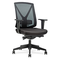 Lorell Steel Frame Mid back Chair