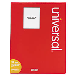 Universal Permanent Labels 8 12 x