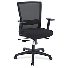 Lorell Ergonomic Mid back Mesh Chair