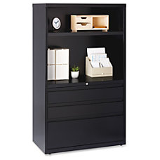 Lorell 36 Lateral File Drawer Combo