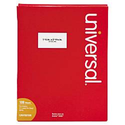 Universal Copier Labels Address 1 12