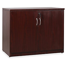 Lorell Essentials Series Mahogany 2 door