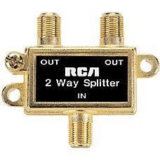 RCA VH47N 2 Way Signal Splitter