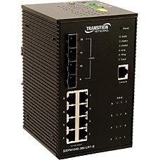Transition Networks Managed Hardened Gigabit Ethernet