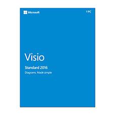 Microsoft Visio 2016 Standard Box Pack