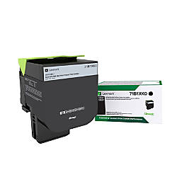 Lexmark 71B1XK0 Extra High Yield Return