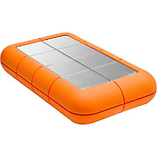 LaCie Rugged 250 GB External Solid