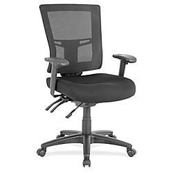 Lorell Swivel Mid Back Mesh Chair
