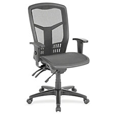Lorell Executive Mesh High Back Chair
