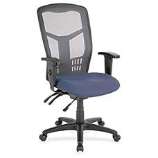 Lorell Ergomesh Seating Exec Mesh High