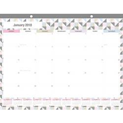Office Depot Brand Monthly Deskpad Calendar