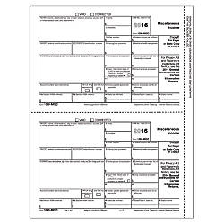 ComplyRight 1099 MISC InkjetLaser Tax Forms