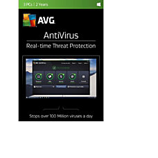 AVG AntiVirus 2017 For 3 Users