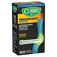 CURAD Antibacterial Adhesive Bandages 1 x