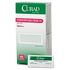 Curad Hydrocortisone Cream 1 Percent Packets
