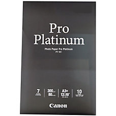 Canon Pro Platinum Photo Paper