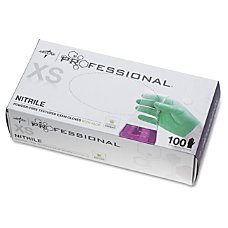 Medline Professional Nitrile Exam Gloves with