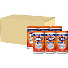 Clorox Disinfecting Wipes Orange Fusion Ready