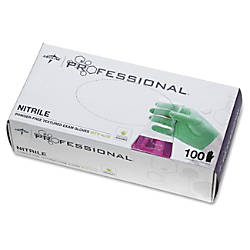 Medline Professional Series Aloetouch Gloves Large