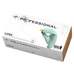 Medline Professional Aloe Coated Latex Disposable