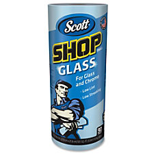 Scott Shop Glass Towels 90 SheetsRoll