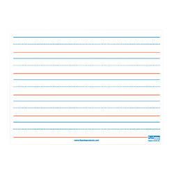 Flipside Magnetic Ruled Dry Erase Boards
