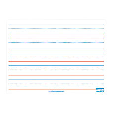 Flipside Magnetic Ruled Dry Erase Boards