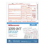 Office Depot Brand 4 Part 1099