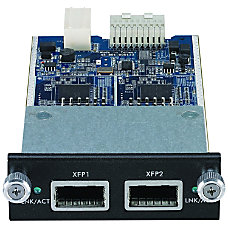 Zyxel 2 slot XFP Expansion Module