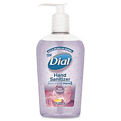 Dial Sheer Blossoms Hand Sanitizer Sheer