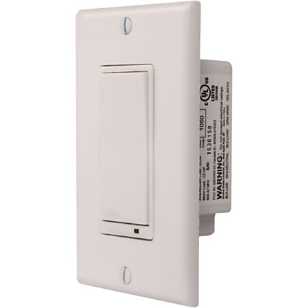linear wd500z z wave wall dimmer switch by office depot officemax. Black Bedroom Furniture Sets. Home Design Ideas