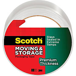 Scotch Premium Thickness MovingStorage Packaging Tape
