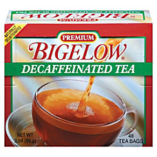 Bigelow Premium Blend Decaffeinated Black Tea