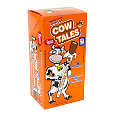 Cow Tales Vanilla Box Box Of