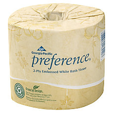 Georgia Pacific 2 Ply Bathroom Tissue