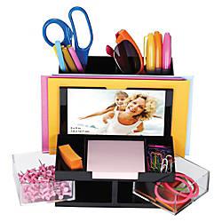 OIC VersaPlus Plastic 9 Compartment Desk