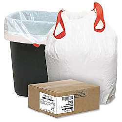 Webster Drawstring Trash Bags 13 Gallons