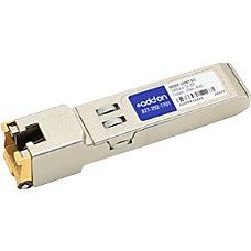 AddOn Enterasys MGBIC 100BT Compatible TAA