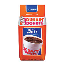 Dunkin Donuts French Vanilla Coffee 12