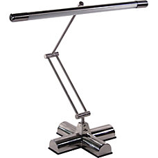 Advantus Brushed Steel Desk Lamp Silver