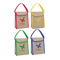 V Natural Kraft Lunch Bag