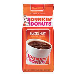 Dunkin Donuts Hazelnut Coffee 12 Oz