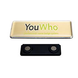 YouWho Professional Name Badge Kit Inkjet