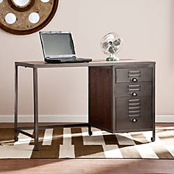 Southern Enterprises Radcliff WoodMetal File Desk